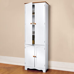 Country Kitchen Tall Cabinet,