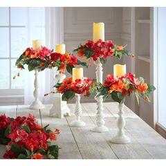 Candlesticks, Set of 5,