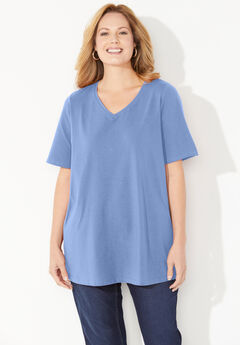 Ultra-Soft V-Neck Tee,