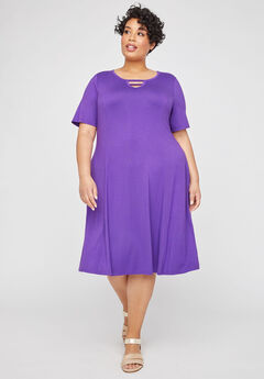 Lakeside A-Line Dress (With Pockets),
