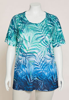 Ombre Palms Tee,