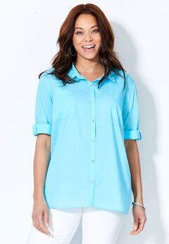 Refined Classic Cotton Shirt,