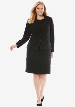 Single Breasted Jacket Dress, BLACK, hi-res