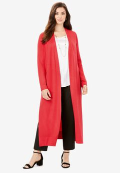Lightweight Sweater Duster,