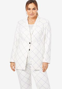 Bi-Stretch Blazer,