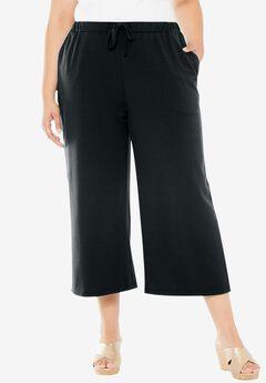 Pure Ease Capri Pants, BLACK, hi-res