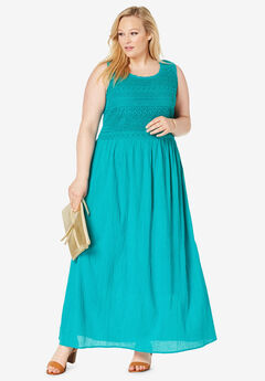Gauze Maxi Dress, JADE