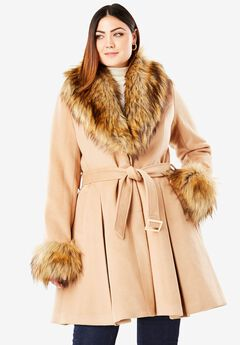 Long Skirted Coat by Donna Salyers Fabulous-Furs®,