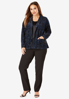 Burnout Velour Pantsuit,