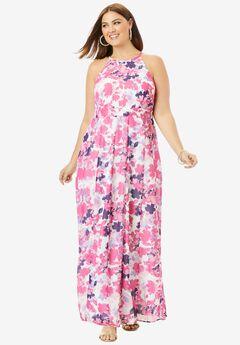Panel Maxi Dress,