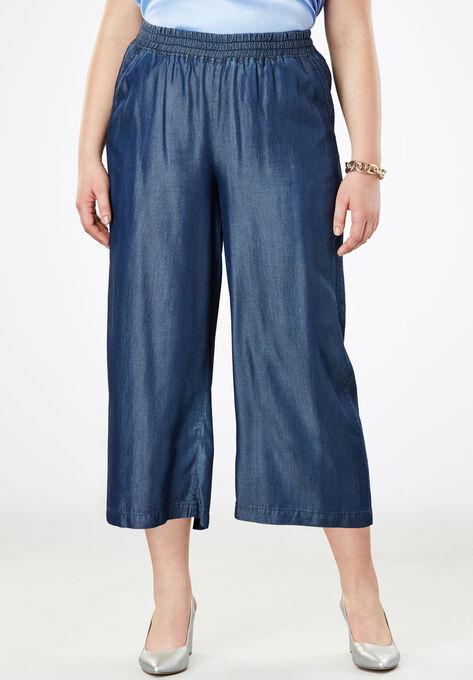 e1bc74e6581 Tencel® Wide Leg Pants