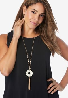 Tassel Pendant Necklace,