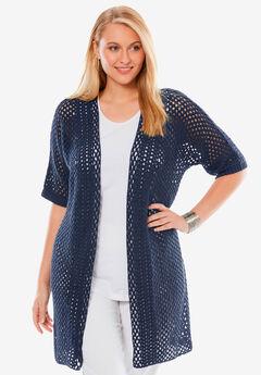 Crochet Duster Sweater,