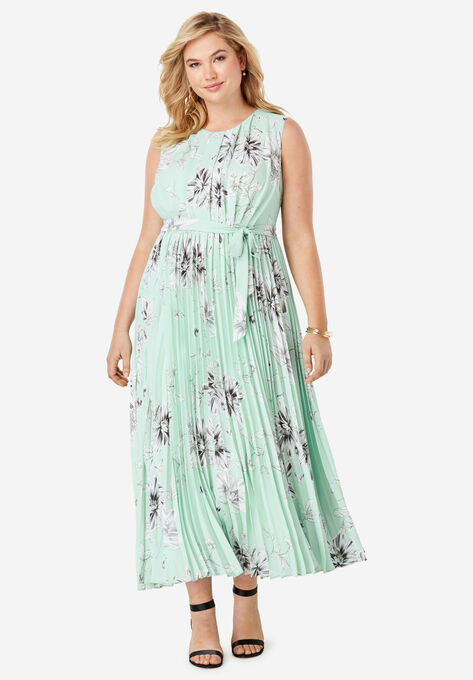 e908ced6bb Pleated Maxi Dress