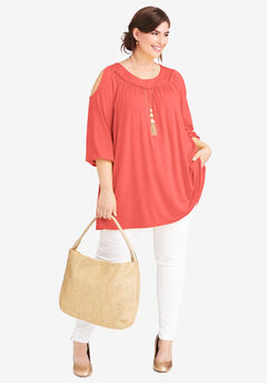Cold Shoulder Tunic,