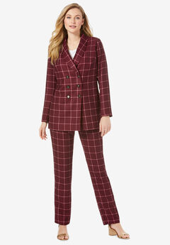 Double-Breasted Pantsuit,