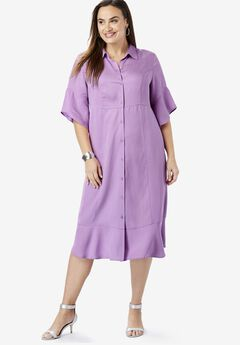 Tencel® Shirtdress,