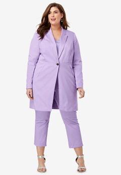 Crop Pantsuit, BRIGHT LILAC