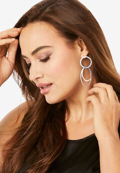 Three Circle Earring,