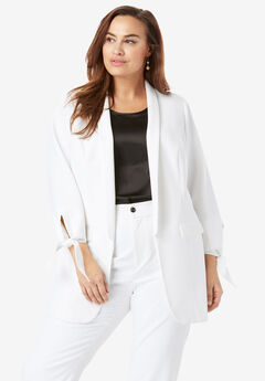 1a7878ed28f Plus Size Blazers   Toppers