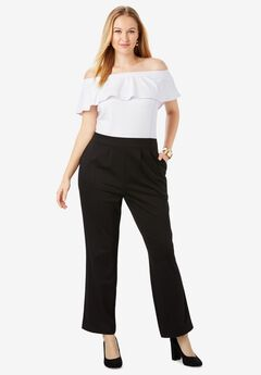 Ponte Colorblock Jumpsuit,