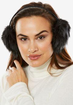 Faux Fur & Velvet Earmuffs,