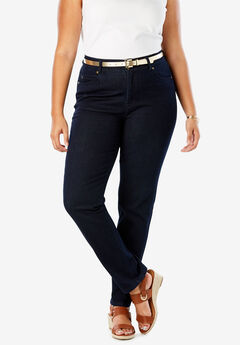 84677edc96a JL Sculpt Denim Straight-Leg Jean. Jessica London