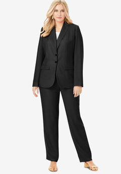 Single Breasted Pant Suit,