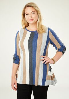 Peplum Sweater,