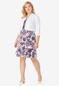 Plus Size Jacket Dresses | Roaman\'s