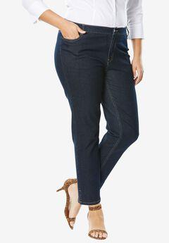 True Fit Ankle Jean, INDIGO, hi-res