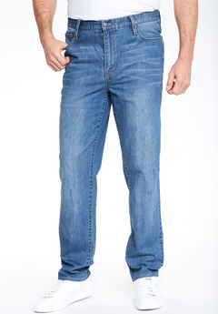 Liberty Blues® Relaxed-Fit Stretch 5-Pocket Jeans,