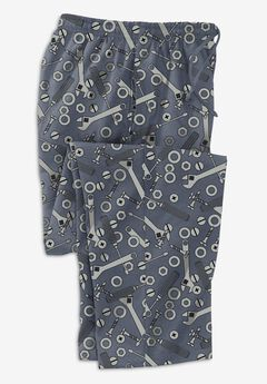 Flannel Novelty Pajama Pants,