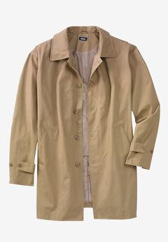 Water-Resistant Trench Coat,