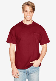 Hanes® Beefy-T Pocket T-Shirt,