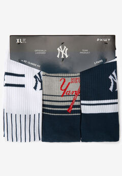 MLB 3-PACK CREW SOCKS,