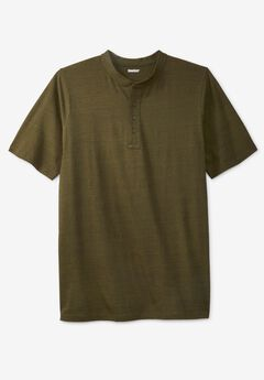 Lightweight Henley T-Shirt,