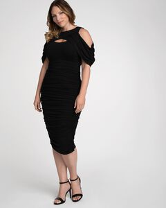 Bianca Ruched Dress,