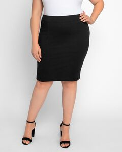 Priscilla Knit Pencil Skirt,