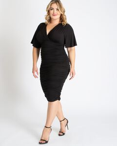Rumor Ruched Dress,