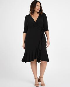 Whimsy Wrap Dress,