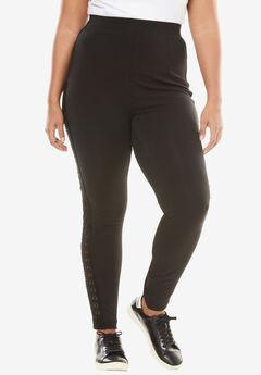 Side Lace Legging,