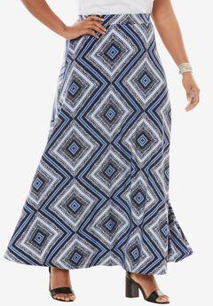 Knit Maxi Skirt,