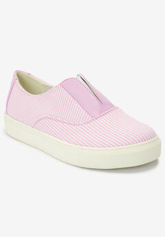 The Maisy Sneaker by Comfortview®, PINK STRIPE