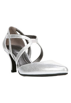 Seamless Pumps by LifeStride®, SILVER SPARKLE, hi-res