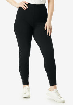 Essential Stretch Legging with Studs,