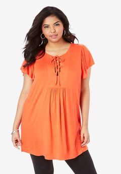 Lace-Up Tunic,