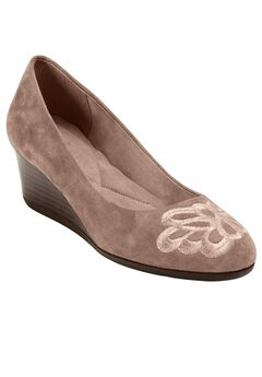 Larcie Pump by Easy Spirit®, DARK TAUPE, hi-res