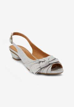 The Deja Slingback by Comfortview®, SILVER