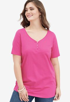 Ultimate Sweetheart Neck Tee,